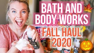 2020 BATH AND BODY WORKS FALL HAUL 🍁 🍂 🎃  | HANDSOAP + CANDLES SCENTS FOR FALL | BRYANNAH KAY