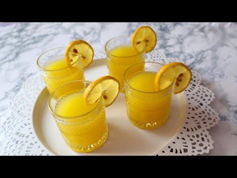 Receta origjinale e limonates me limon. Do te behet e pazevendesueshme ne tavolinat e Ramazanit.
