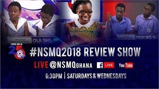 NSMQ 2018 ONE-EIGHTH: AGGREY MEMORIAL SHS vs SONRISE SHS vs KUMASI SHTS