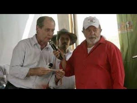 """CIRO GOMES O """"PINOQUIO"""" denuncia  LULA DILMA e chama BOLSONARO de ( Hitler )"""