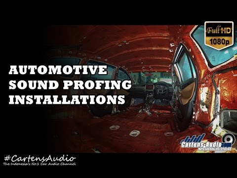 Video [TIMELAPSE] Pemasangan PEREDAM SUARA Interior Dan Plafon Mobil Oleh Cartens® Autosound Jakarta