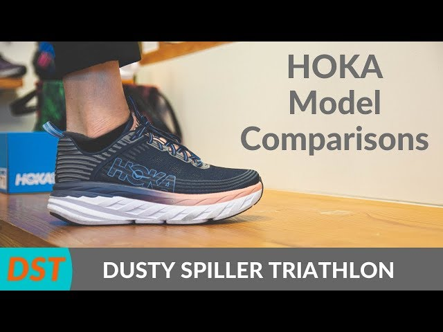 Hoka Running Shoes Review- Rincon, Clifton 6, Bondi 6, Speedgoat 4   Cowichan Valley Running