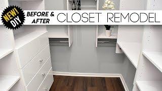 CLOSET Remodel // Surprising The Parents With A New Closet // Small closet Ideas