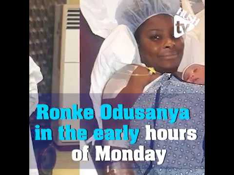 Nollywood Actress Ronke odusanya Puts To Bed, Babydaddy Revealed
