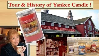 YANKEE CANDLE Village Store Tour & History!