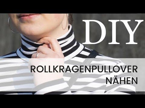 Rollkragenpullover nähen - DIY Tutorialtime I Hilli Hiltrud