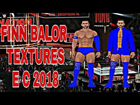 WWE Finn Balor Elimination Chamber 2018 attires textures