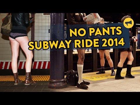Chiến dịch đi tàu điện không mặc quần 2014