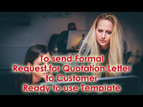 mp4 Business Quotation Letter, download Business Quotation Letter video klip Business Quotation Letter
