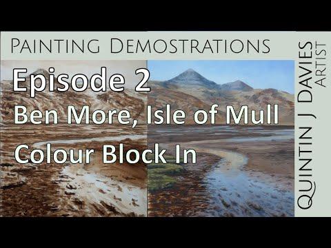 Thumbnail of Episode 2: Ben More - Landscape Painting Demonstration - Colour Block In