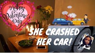 SHE CRASHED HER CAR! - 🎥ATL Vlogs 🎥