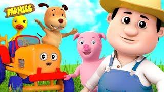 Old Macdonald Had A Farm | Nursery Rhymes & Songs | Videos for Kids