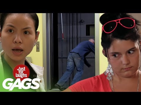 Best Elevator Pranks - Best Of Just For Laughs Gags