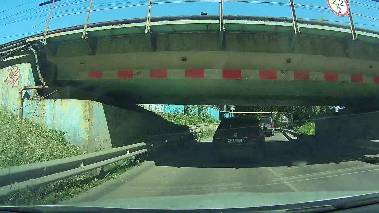 Мост низкий или грузовик высокий?