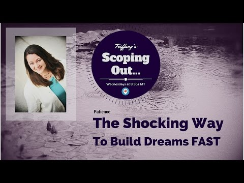 Scoping Out…Patience: The Shocking Way To Build Dreams FAST
