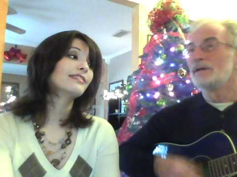 White Christmas - Kim and Dad