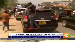 Citizen Extra : Odinga arejea nchini