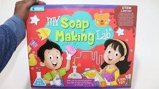 How To Make A Soap Experiment - My Soap Making Lab - Chatpat Toy Tv