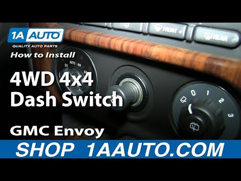 How to Replace Four Wheel Drive Switch 02-06 GMC Envoy XL