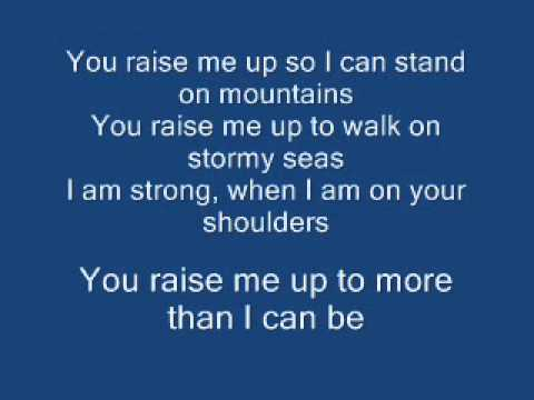 You Raise Me Up Lyrics Mp3