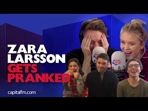 Zara Larsson and Roman Kemp Get Pranked!
