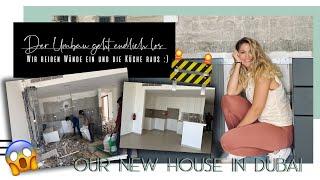 Der Umbau geht endlich los - Wie reißen Wände ein und die Küche raus