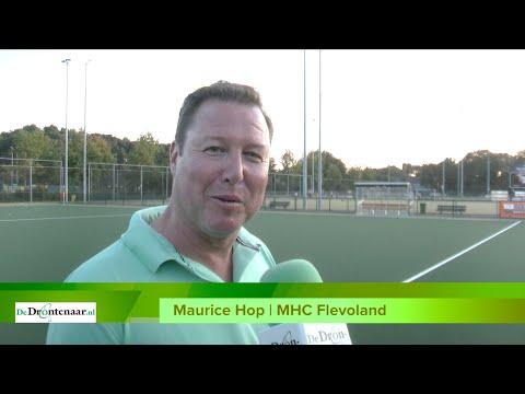 VIDEO | Middenstip of niet, MHC Flevoland viert de opening van het waterveld uitbundig