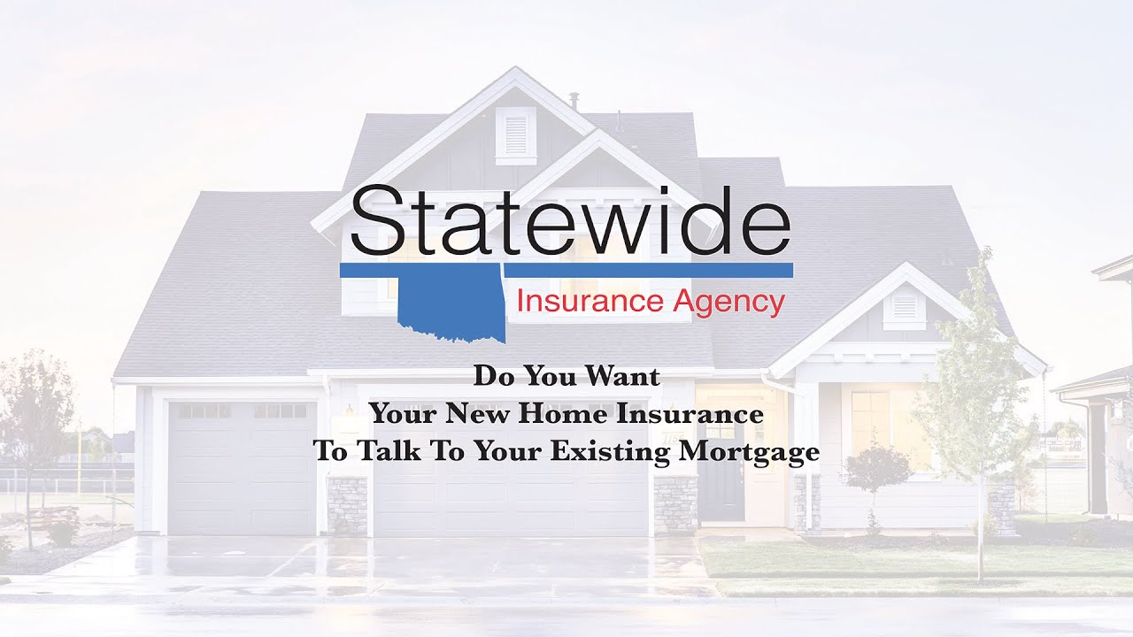 Do You Want Your New Home Insurance To Talk To Your Existing Mortgage