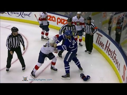 Brian Boyle vs. Colton Sceviour