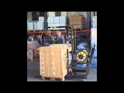 Manual Pallet Strapping Machine | Strap Poka From Trio Packaging Systems