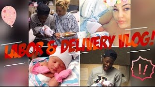 LABOR & DELIVERY VLOG RIGHT AFTER MY WATER BROKE!! @dcyoungfly x @msjackyoh