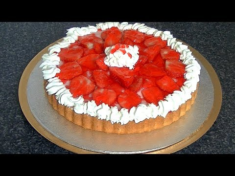 STRAWBERRY CREAM FLAN *COOK WITH FAIZA*