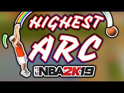 HIGHEST ARC Jumpshot Of NBA 2K19