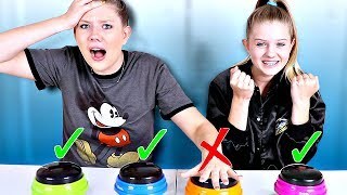 DONT Choose The Wrong Mystery BUTTON Slime Challenge