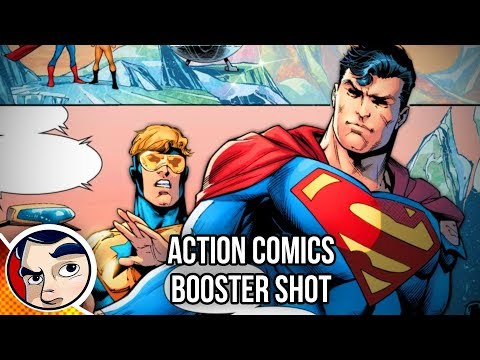 """Superman & Booster Gold """"Mr. Oz Aftermath, Save Krypton?"""" – Rebirth Complete Story"""