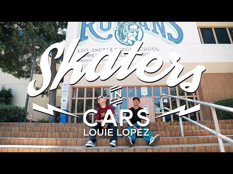 Skaters In Cars: Louie Lopez | X Games