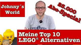 Meine Top 10 LEGO® Alternativen - Die besten Klemmbaustein-Marken