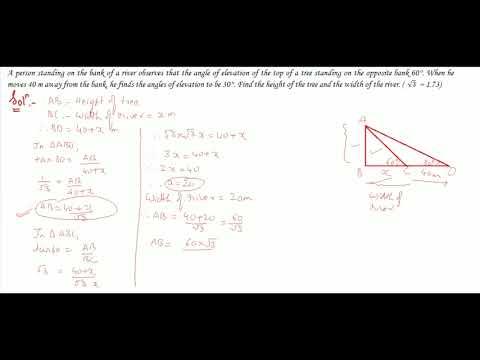 Trigonometry Part 53 (3) Class 10