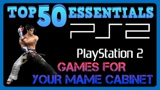 Top 50 PS2 Games For Your MAME Cabinet