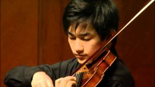 Zeyu Victor Li- Paganiniana by Nathan Milstein,Solo Virtuoso Piece,Curtis Institute of Music