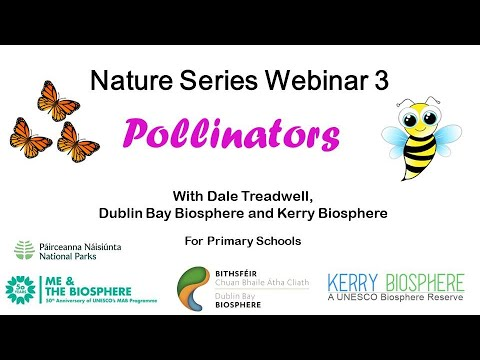 , title : 'Nature Series 3 Pollinators with Dale Treadwell