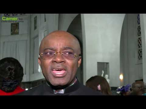 Le père Aurélien Saniko & l'iman Jamal Habbachich prêchent la paix pour le Cameroun
