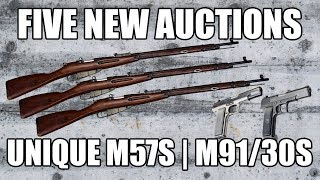[Auction] Tula 91/30 Mosin Nagant Dragoon Era, 7.62x54R w/ Bayonet, Sling, and Acc.- SN# IOM3888