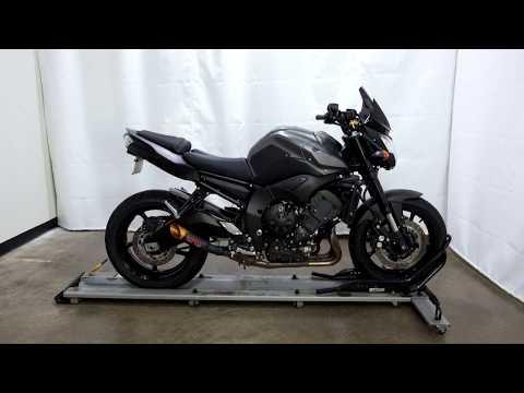 2013 Yamaha FZ8 in Eden Prairie, Minnesota - Video 1