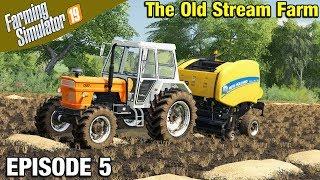 HAY FOR HORSES Farming Simulator 19 Timelapse - The Old Stream Farm