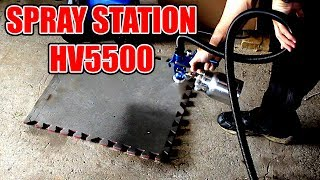 Spray Day with the Earlex Spray Station 5500 - YouTube