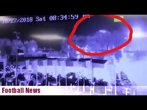Shocking CCTV shows Leicester City owner's helicopter crash