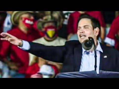 Marco Rubio Humiliates Self During Cringey Trump Rally Appearance