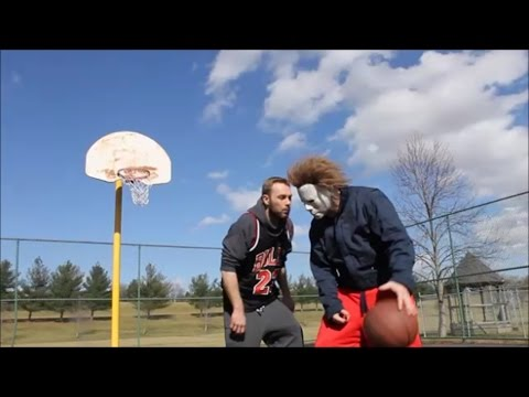 Michael Myers Tries Basketball (Funny Michael Myers Video)