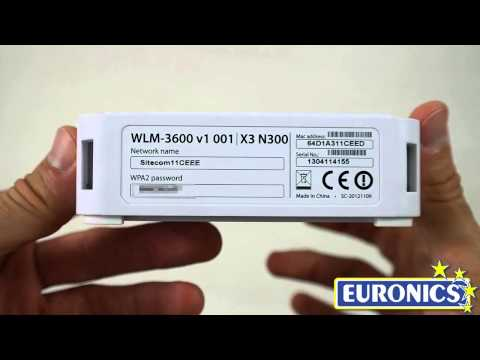 SITECOMWLM-3600 Wi-Fi Modem Router X3